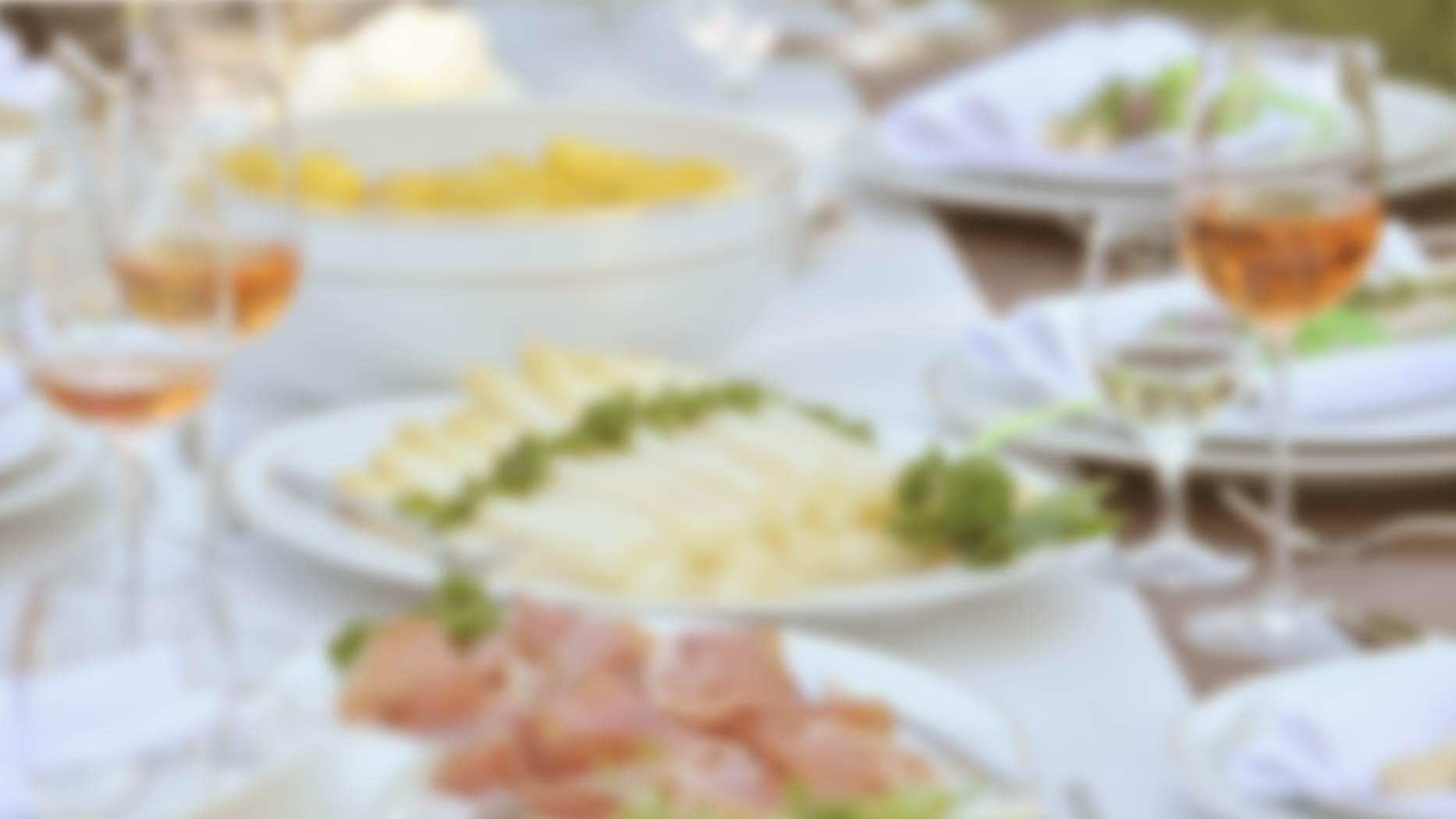 Speisekarte – Spargelsaison